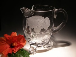 Crystal Barware - Footed Pitcher