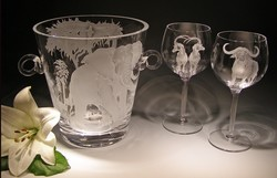 Crystal Barware - Wine Cooler