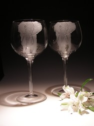 Crystal Barware - Wine Glass  18 oz.