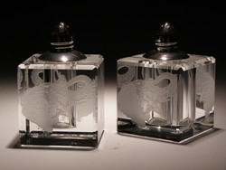 Other Crystal Items - Crystal Salt & Pepper