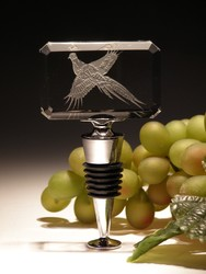 Crystal Barware - Crystal Wine Stopper