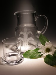 Crystal Barware - Pitcher w/ Lid