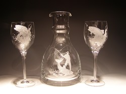Crystal Barware - Wine Carafe