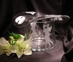 Crystal Barware - Top Hat Cooler