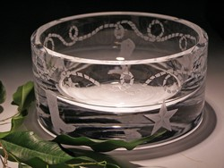 Crystal Bowls and Buckets - Bowl Western theme