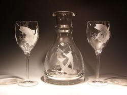 Crystal Decantors - Wine Carafe