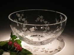 Crystal Bowls and Buckets - Large Round Bowl