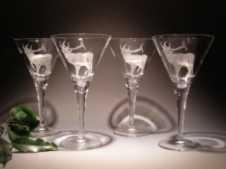 Crystal Barware - Martini