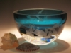 Crystal Bowls and Buckets - Crystal Crystal Peacock Bowl Small