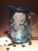 Crystal Barware - Crystal Crystal Blue Pitcher