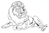 African Wildlife Designs - Lion - Crystal Engraving Design