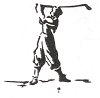 Sports-Golf Designs - Golf - Crystal Engraving Design