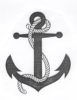 Seascape-Nautical Designs - Anchor - Crystal Engraving Design