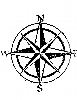 Seascape-Nautical Designs - Nautical Compass - Crystal Engraving Design