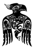 Totem - Eagle - Crystal Engraving Design
