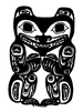 Totem - Haida Bear - Crystal Engraving Design