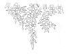 Foliage Designs - Cherry Blossom - Crystal Engraving Design