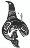 Totem - Orca - Crystal Engraving Design